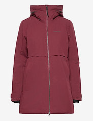 Didriksons - HELLE WNS PARKA 2 - parkasjackor - anemon red - 2