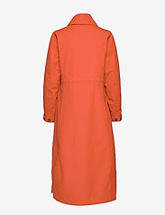 Didriksons - HANNA WNS COAT - trenchcoats - ember red - 3