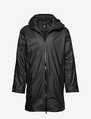 Didriksons - ICELAND USX PARKA 2 - rainwear - black - 0