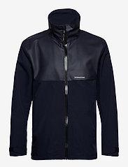 Didriksons - OLIVER USX JKT - manteaux de pluie - dark night blue - 1