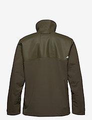Didriksons - OLIVER USX JKT - manteaux de pluie - fog green - 2