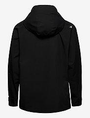 Didriksons - ASTON USX JKT - manteaux de pluie - black - 2