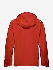 Didriksons - ASTON USX JKT - manteaux de pluie - lava red - 2