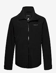 Didriksons - COLIN USX JKT - manteaux de pluie - black - 0