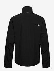 Didriksons - COLIN USX JKT - manteaux de pluie - black - 2