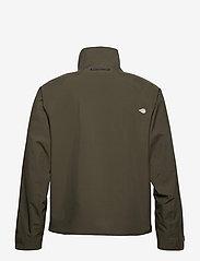 Didriksons - COLIN USX JKT - manteaux de pluie - fog green - 2