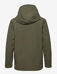 Didriksons - OVE USX JKT - manteaux de pluie - dusty olive - 2