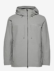 Didriksons - OVE USX JKT - rainwear - stone grey - 2