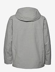 Didriksons - OVE USX JKT - rainwear - stone grey - 3
