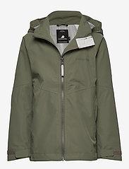 Didriksons - TERA GIRLS JKT 3 - shell jacket - dusty olive - 1