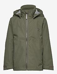 Didriksons - TERA GIRLS JKT 3 - shell jacket - dusty olive - 2