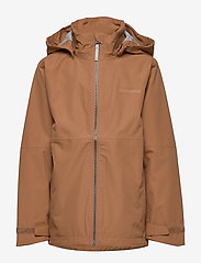 Didriksons - PIKO BOYS JACKET 3 - shell jacket - almond brown - 2