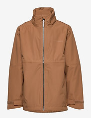 Didriksons - PIKO BOYS JACKET 3 - shell jacket - almond brown - 3