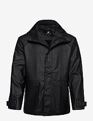 Didriksons - OSKAR USX JKT 2 - manteaux de pluie - black - 0