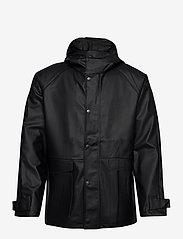 Didriksons - OSKAR USX JKT 2 - manteaux de pluie - black - 1