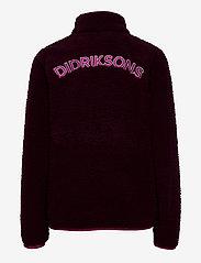 Didriksons - LO KIDS JACKET - fleecetøj - plum - 2