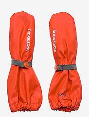 Didriksons - PILEGLOVE KIDS 4 - handschuhe - poppy red - 0