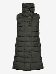 Didriksons - MY WNS VEST - puffer vests - forest green - 2