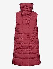 Didriksons - MY WNS VEST - puffer vests - velvet red - 2