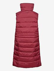 Didriksons - MY WNS VEST - puffer vests - velvet red - 3