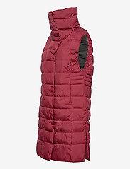 Didriksons - MY WNS VEST - puffer vests - velvet red - 4