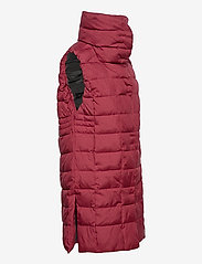 Didriksons - MY WNS VEST - puffer vests - velvet red - 5