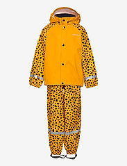 Didriksons - SLASKEMAN PR SET 4 - ensembles - citrus yellow dots - 1