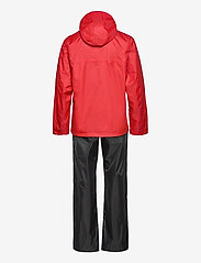 Didriksons - AMUR USX SET - manteaux de pluie - lava red - 1