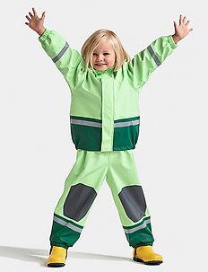 BOARDMAN KIDS SET 5 - regnställ - split green