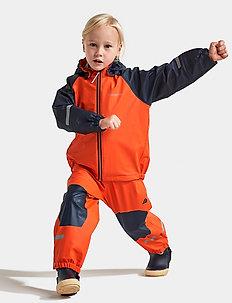 STORMMAN KIDS SET 4 - regnställ - tile orange