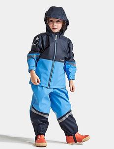 WATERMAN KIDS SET 4 - regnställ - breeze blue