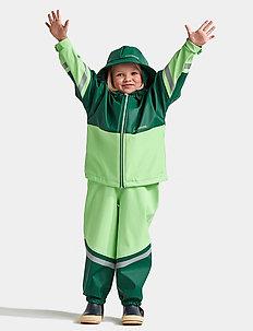 WATERMAN KIDS SET 4 - regnställ - split green