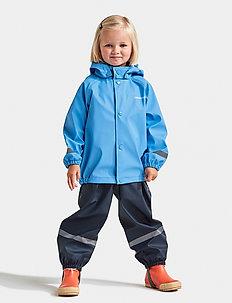 SLASKEMAN KIDS SET 4 - regnställ - breeze blue