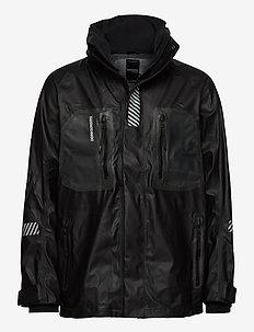 ELEMENT USX JKT - regnkläder - black