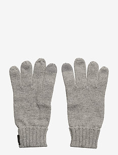 HEDEN GLOVES - gloves - grey melange