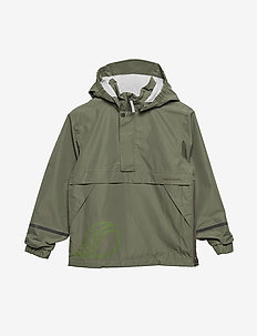 ANKAN KIDS ANORAK - DUSTY OLIVE