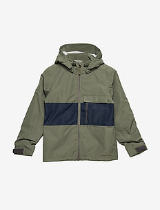 IGELKOTTEN KIDS JKT - DUSTY OLIVE