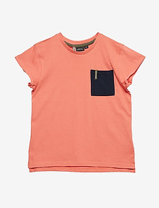 DUVAN KIDS T-SHIRT - CORAL ROSE
