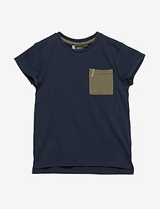 DUVAN KIDS T-SHIRT - NAVY