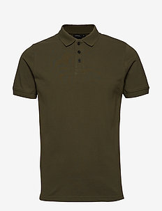 WILLY USX POLO - lyhythihaiset - dusty olive