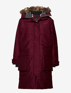 GOLDA WNS PARKA - ANEMON RED