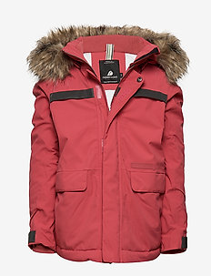 HAJEN KIDS PARKA - RASPBERRY RED