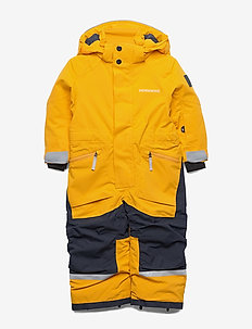 ASLAN KIDS COVERALL - snowsuit - oat yellow