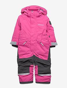 ASLAN KIDS COVERALL - snowsuit - plastic pink