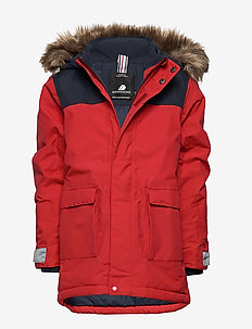KURE KIDS PARKA 2 - CHILI RED