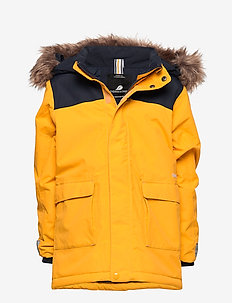 KURE KIDS PARKA 2 - OAT YELLOW