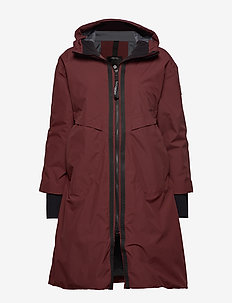 AINO WNS PARKA - ANEMON RED