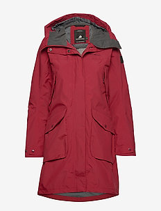 THELMA WNS PARKA 3 - ELEMENT RED