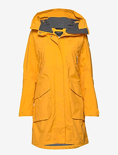 THELMA WNS PARKA 3 - OAT YELLOW