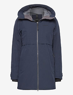 HELLE WNS PARKA 2 - parkasjackor - dark night blue